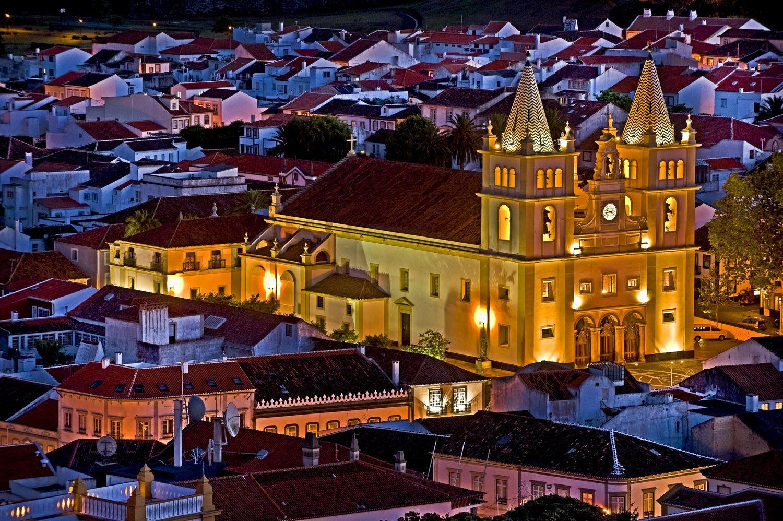 Cidade de Angra do Heroismo, Terceira, Azores, Portugal