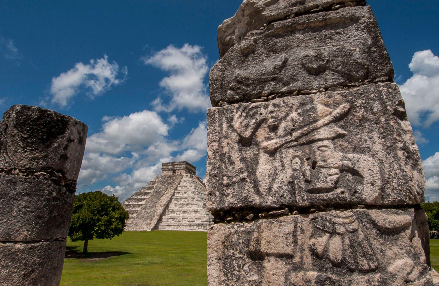 Chichen Itza,  Mayan Ruins, Mexico