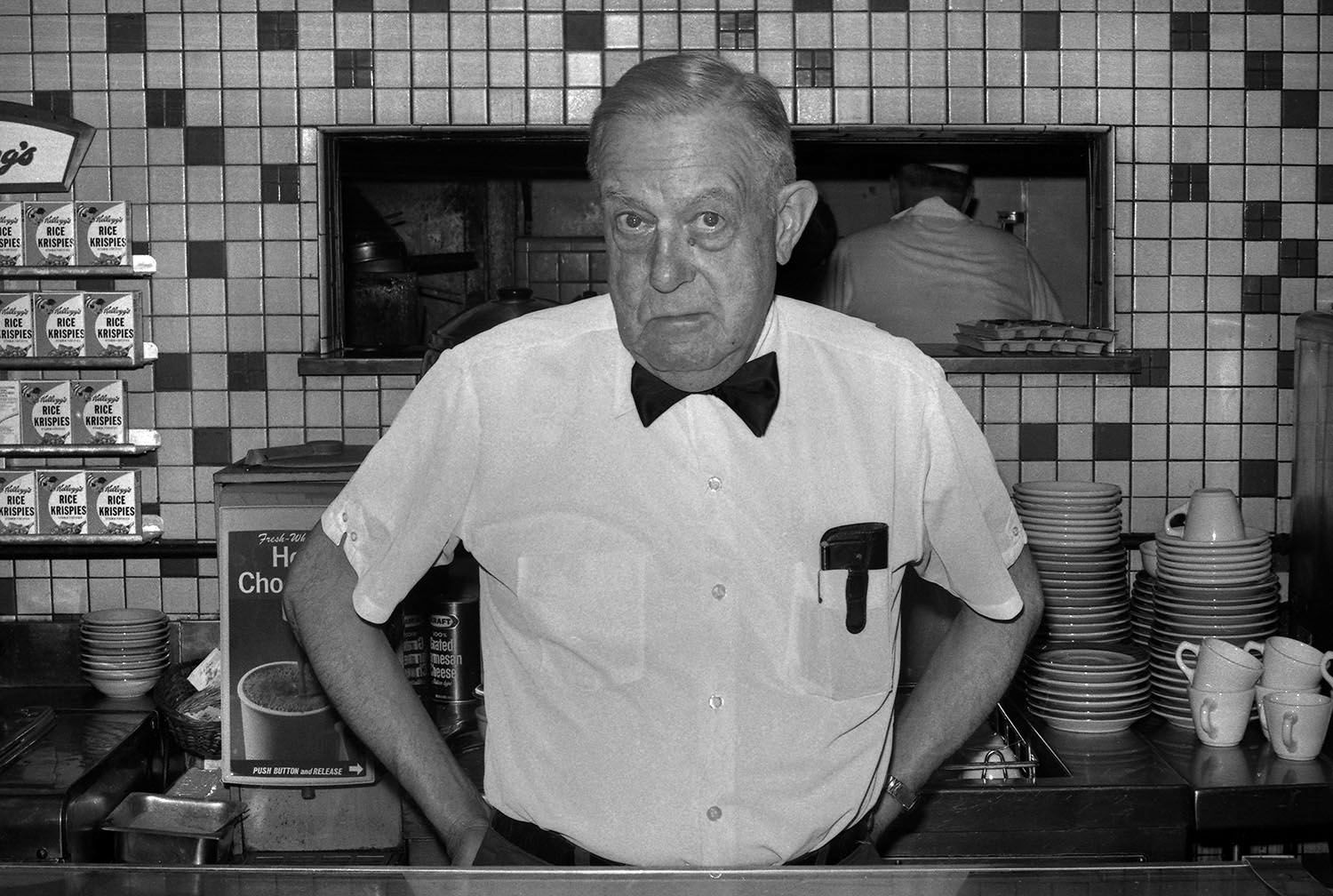 Manager of Restaurant, 1975