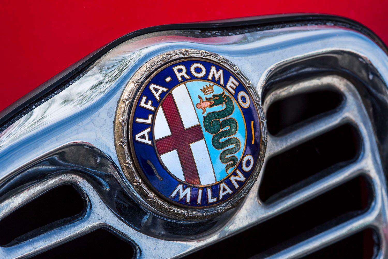 Red Alpha Romeo