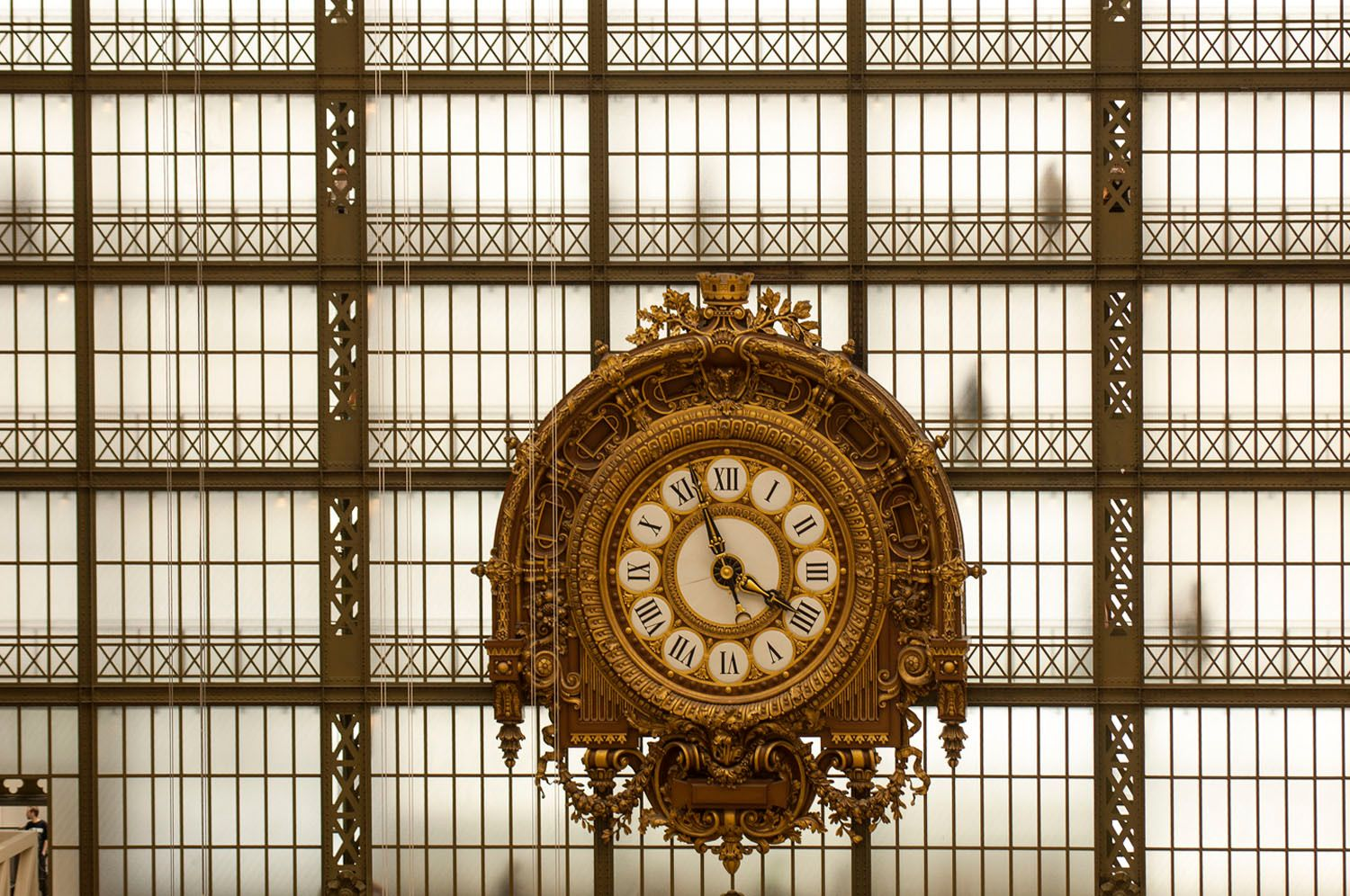 Interior view of  the Musee d'Orsay