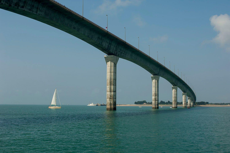 Bridge to Île de Ré, France