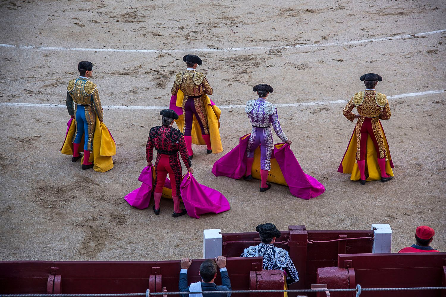 Bull fighters Suits of Light