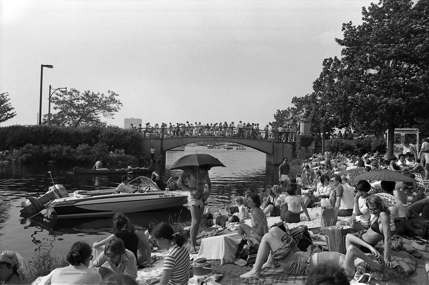 Boston Esplanade on July 4th 1977