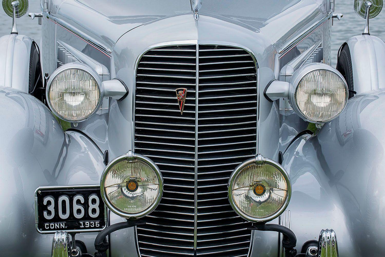 1936 Cadillac Fleetwood 85 Convertable Sedan