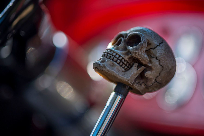 Skull for Auto gear Shifter