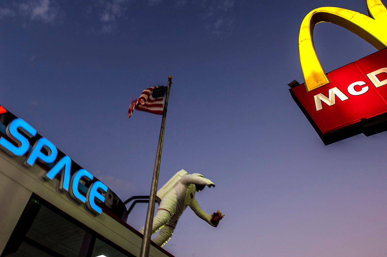 McDonalds in Space