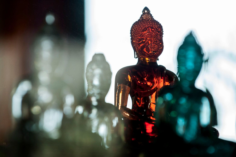 Glass Buddha's, Chiang Mei, Thailand