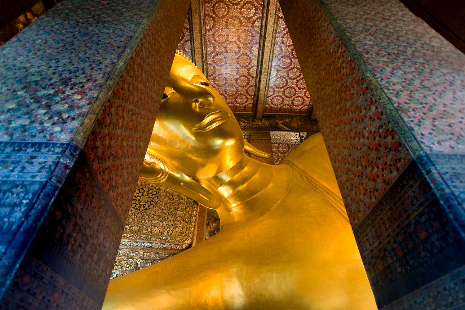 Golden Buddha at Wat Pho