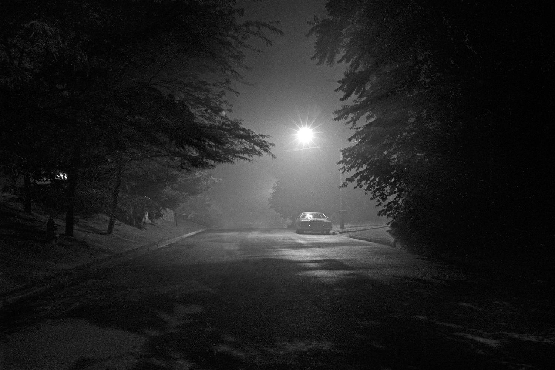 Night Photography  Under Street Light