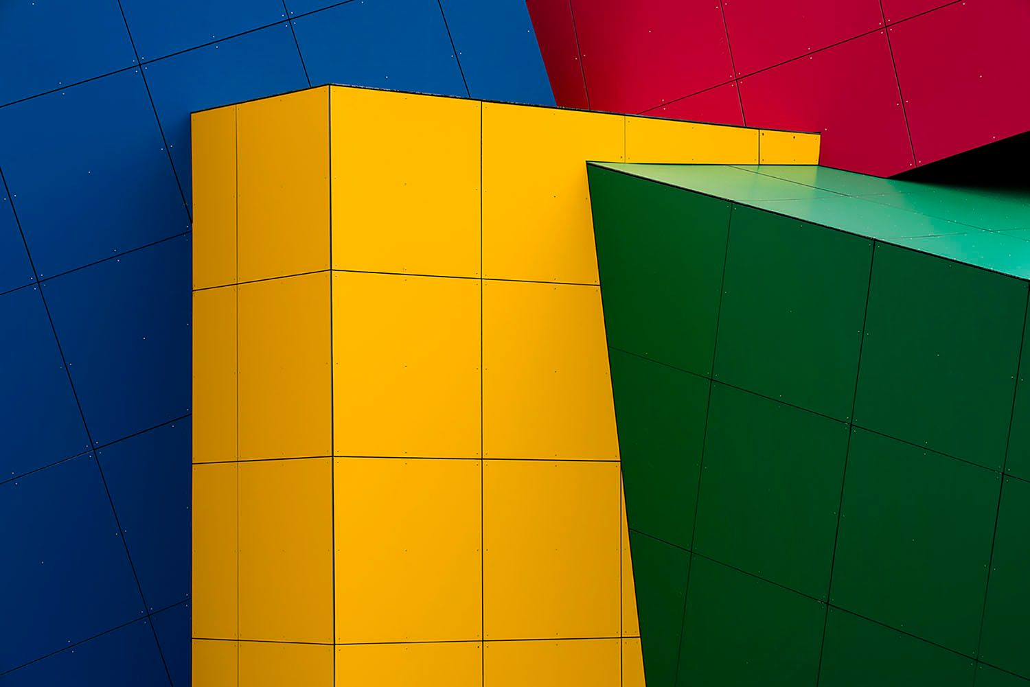 Primary Color Cubes