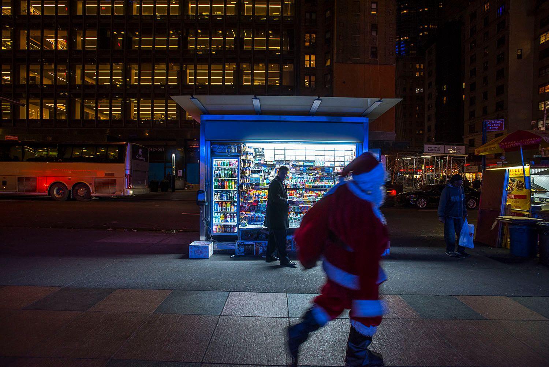Santa in NYC
