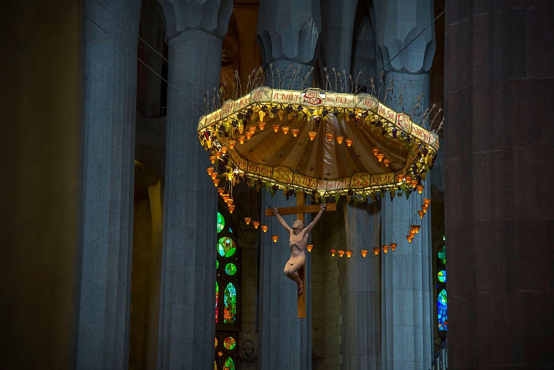 Statue of Jesus Christ, Sagrada Familia