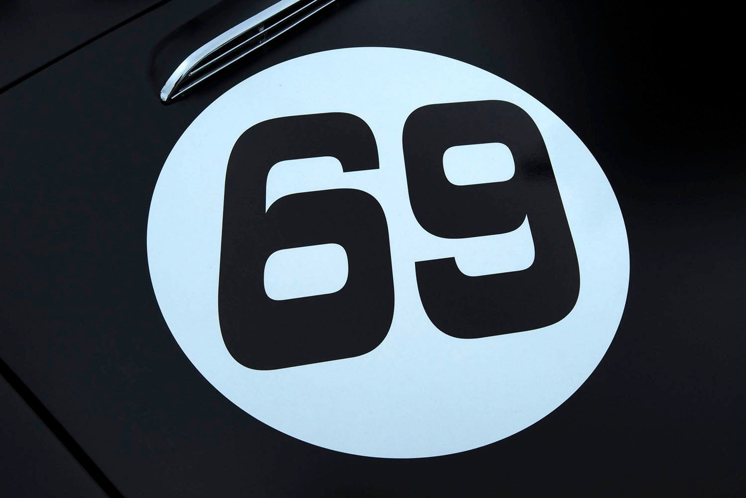 Number 69 Rally Car