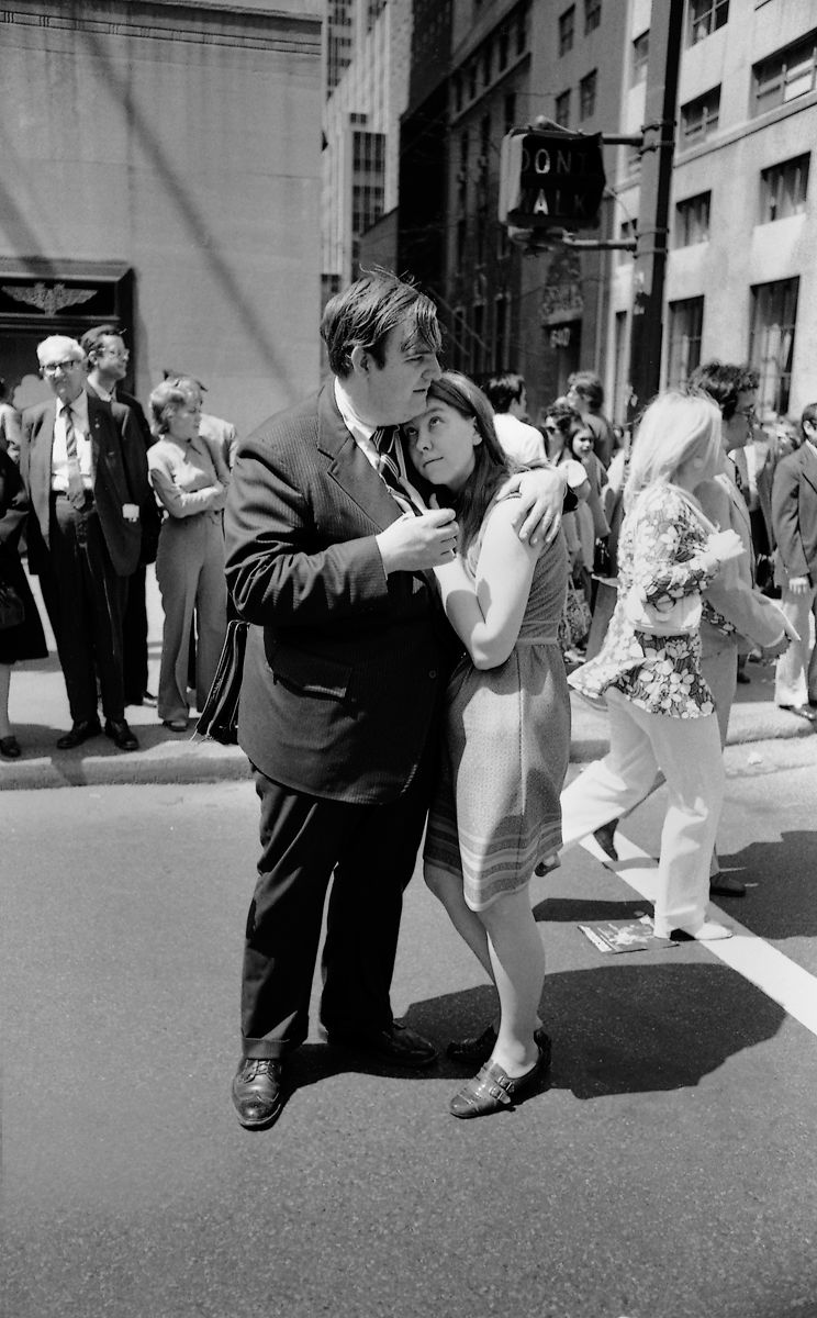 Couple at Easter Day Parade, NYC 1973