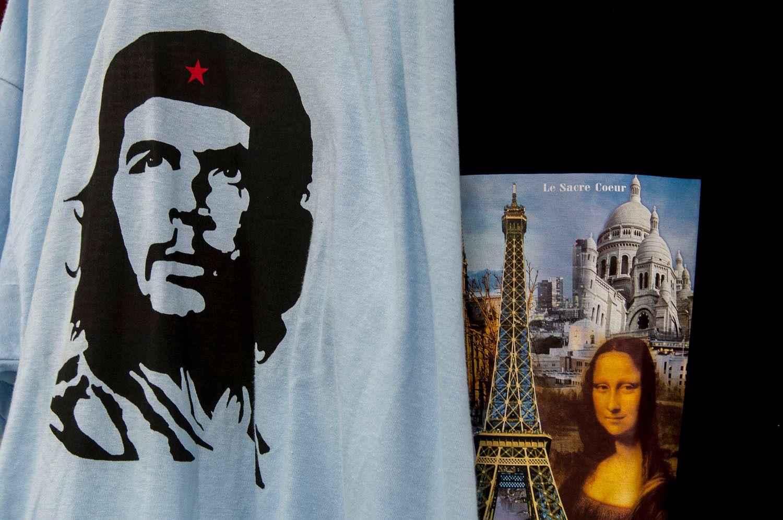T-shirts, Paris, France