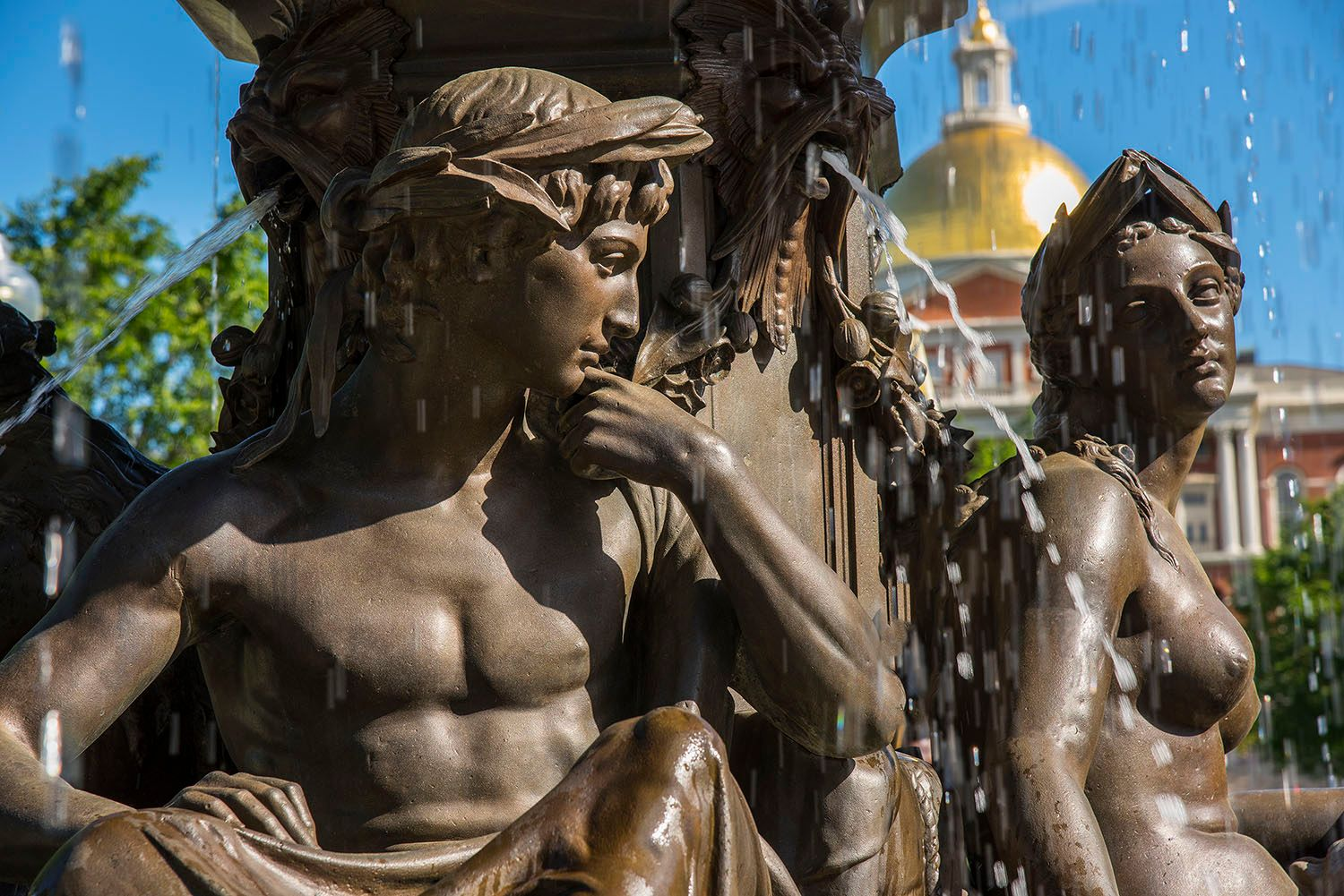 Brewer Fountain, Boston Commons