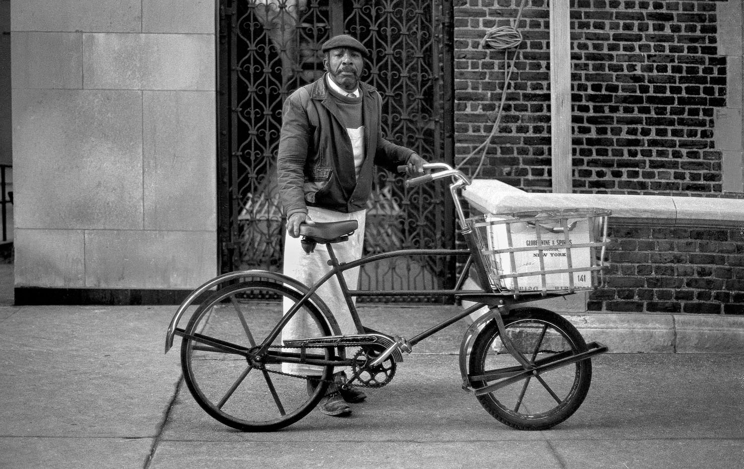 Bicycle Delivery Man