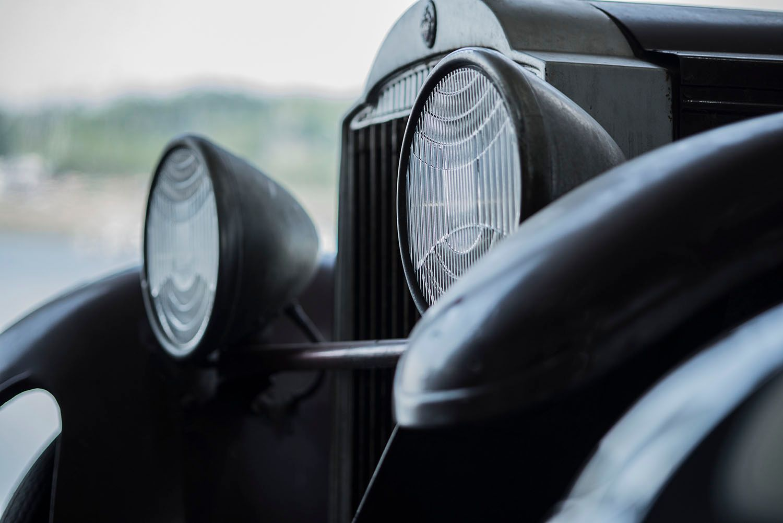 1929 Packard Custom Eight Front End