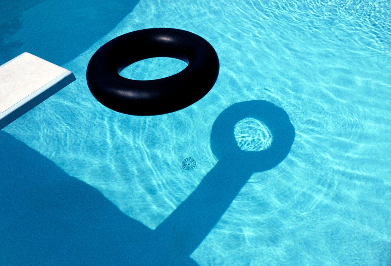 Inner Tube in Swimming Pool