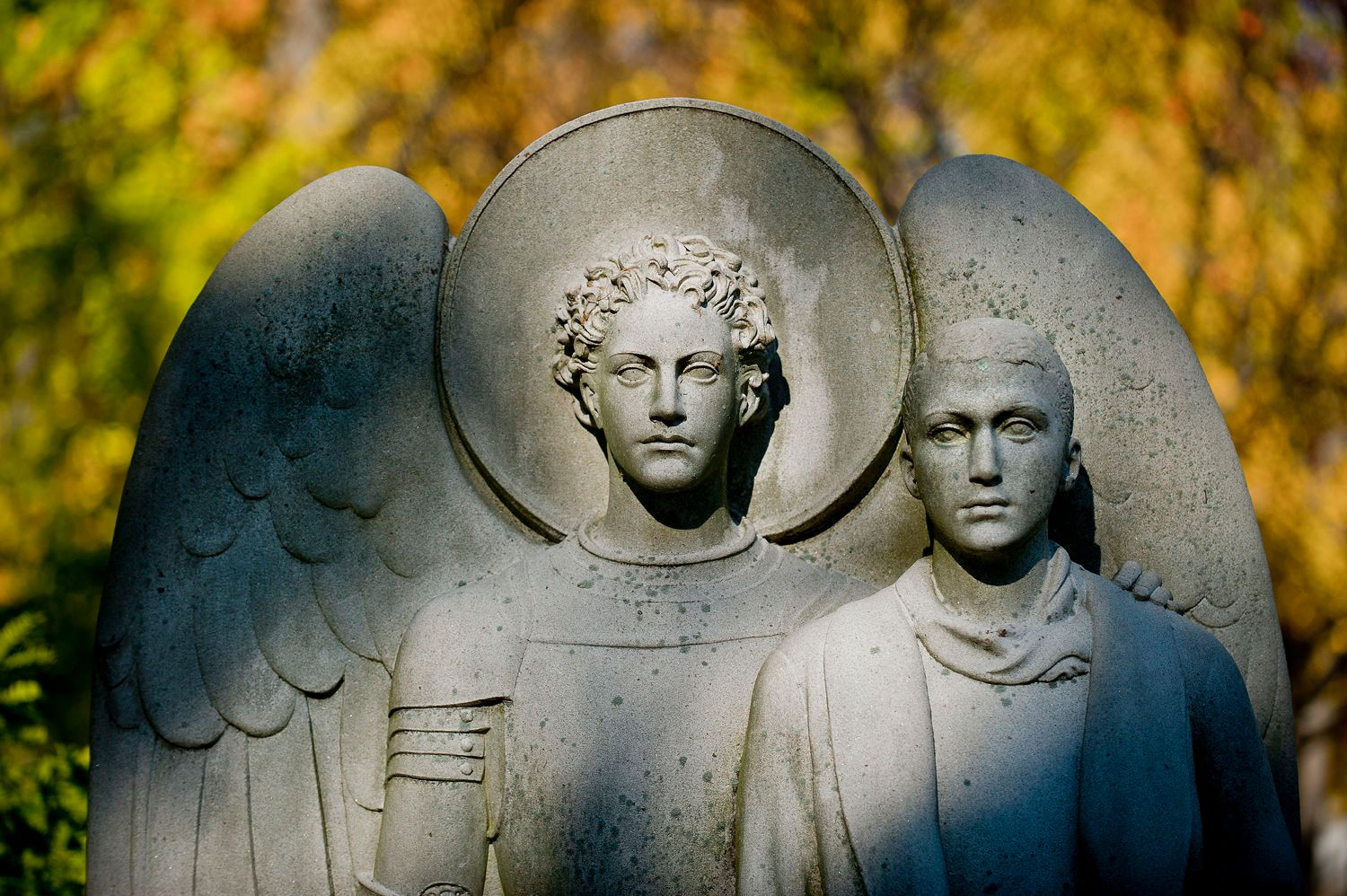 Stone Angel with Deceased