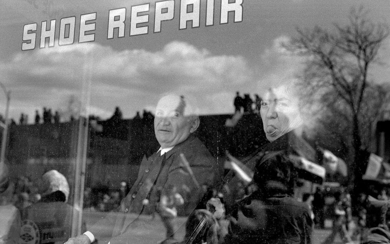 Shoe Repair Store Window