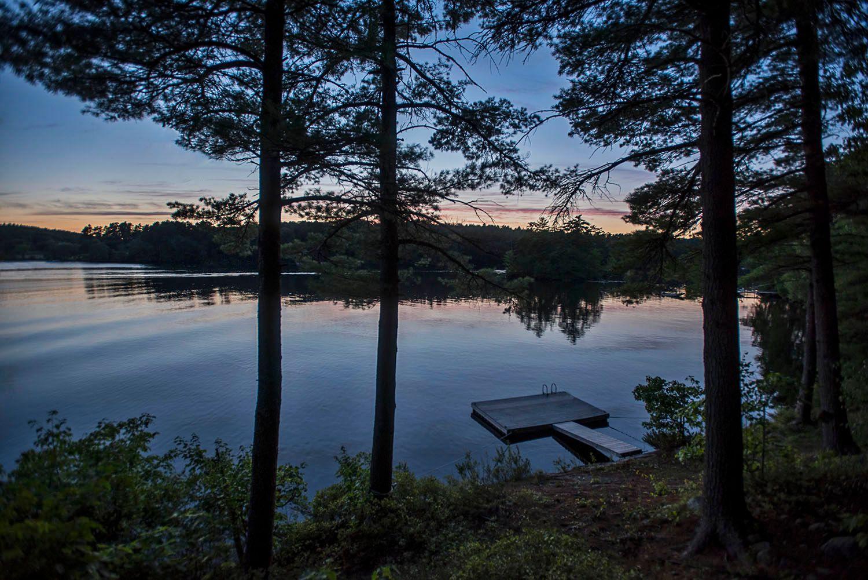 Damariscotta Lake, Maine