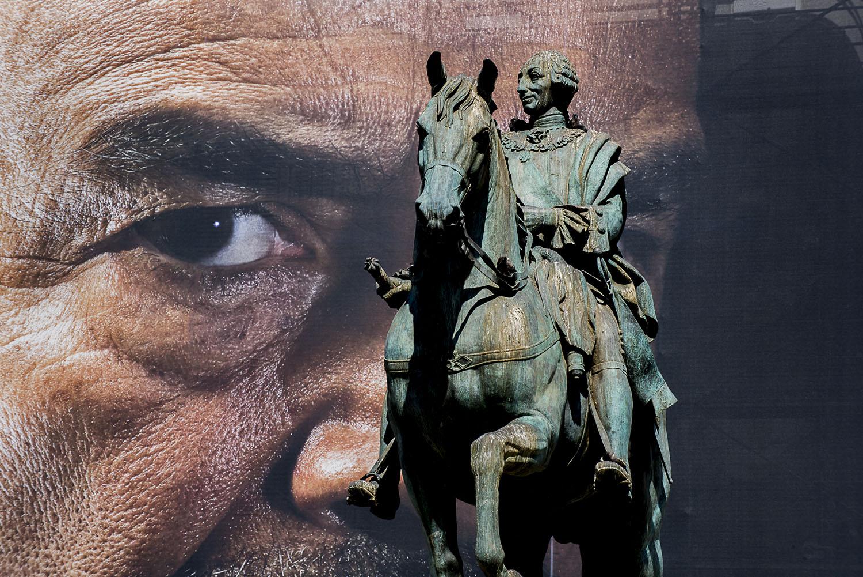 Statue of King Charles III
