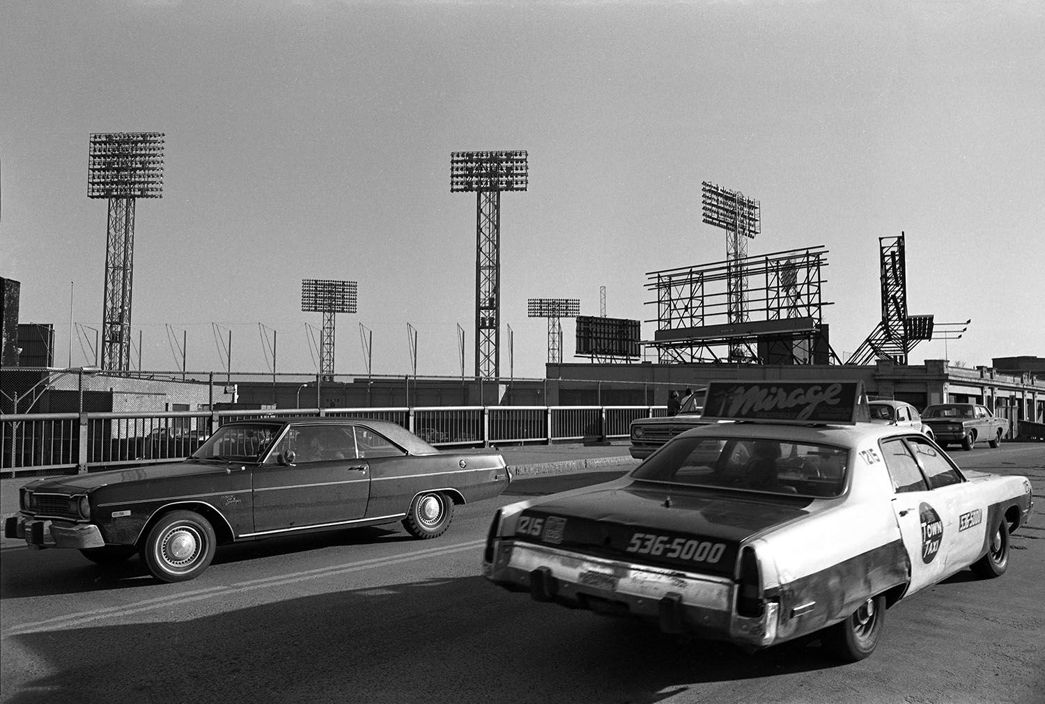 Kenmore Square and Fenway Park 1975
