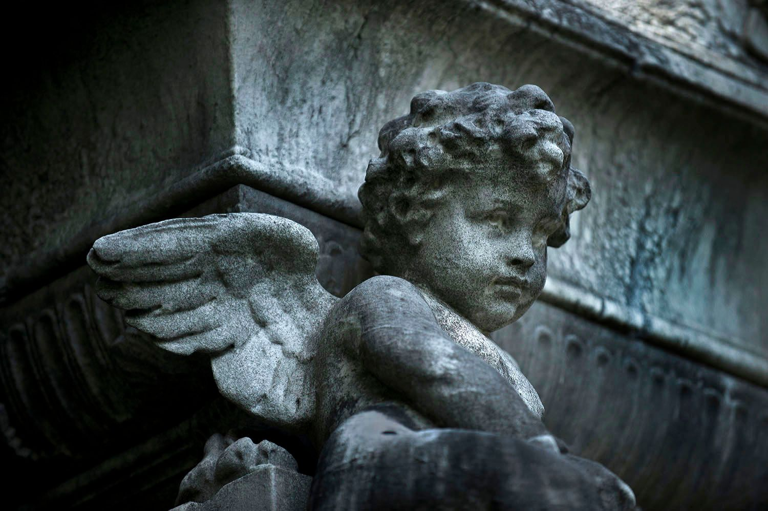 Cherub with Wings
