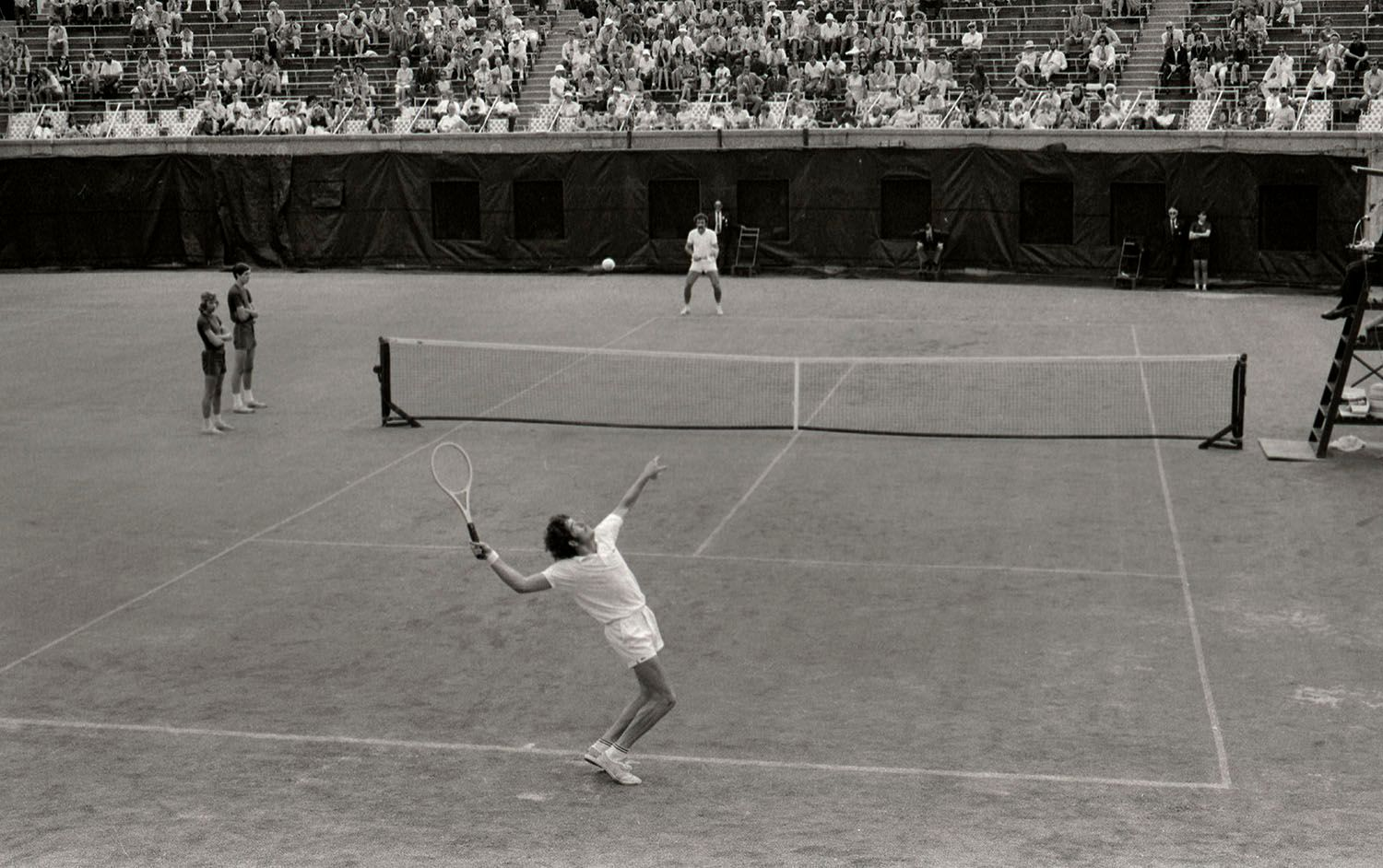 Mens Tennis at Forest Hills, NY. 1971