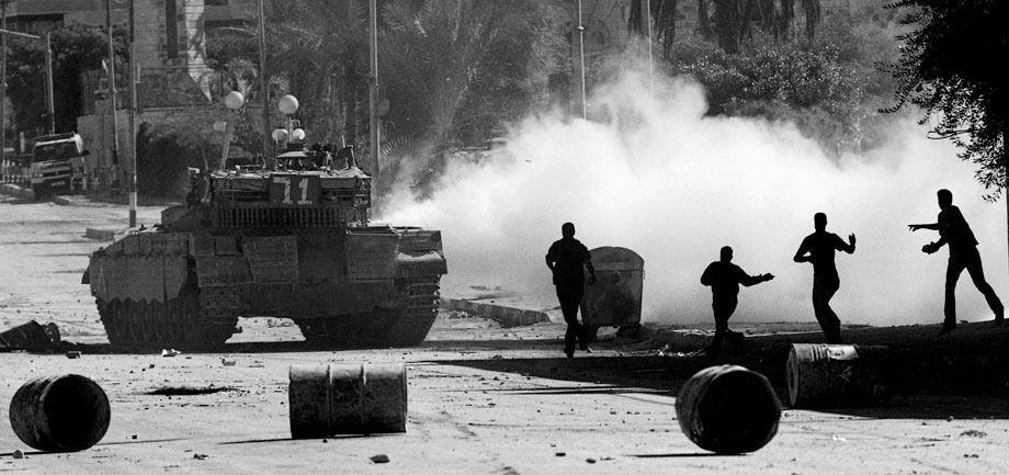 Nablus Under Curfew