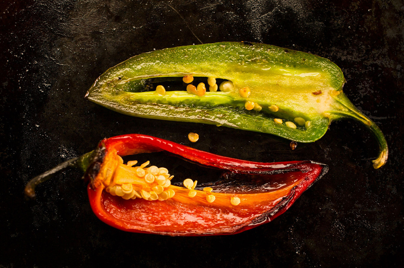 Jalapeño Pepper Sizzling