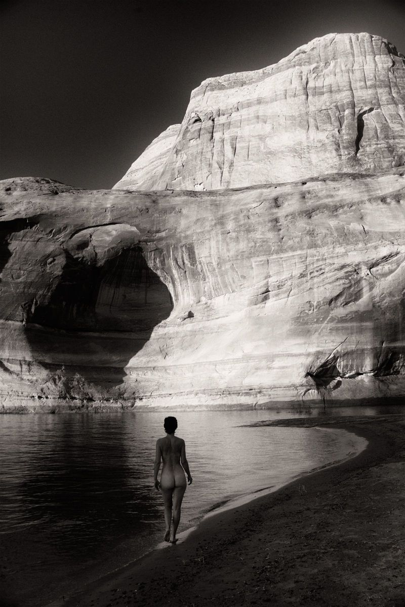 jojo at dusk, lake powell 2012