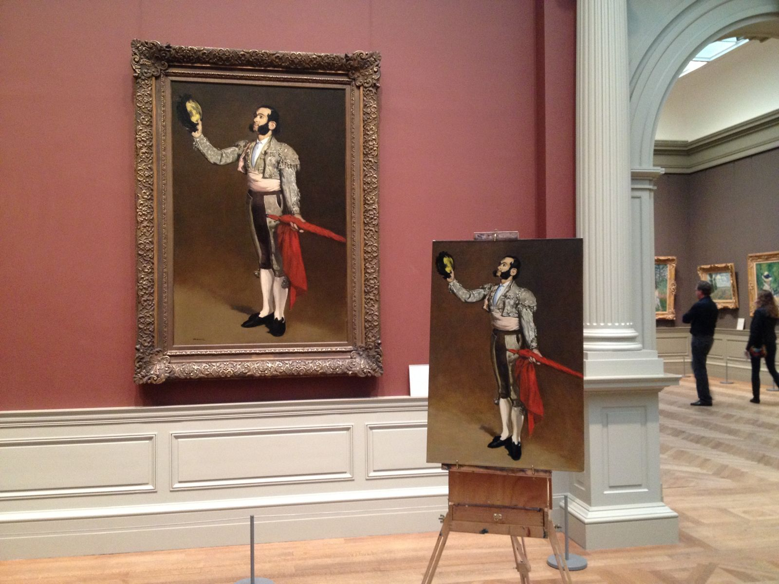 Copy after El Matador by Manet