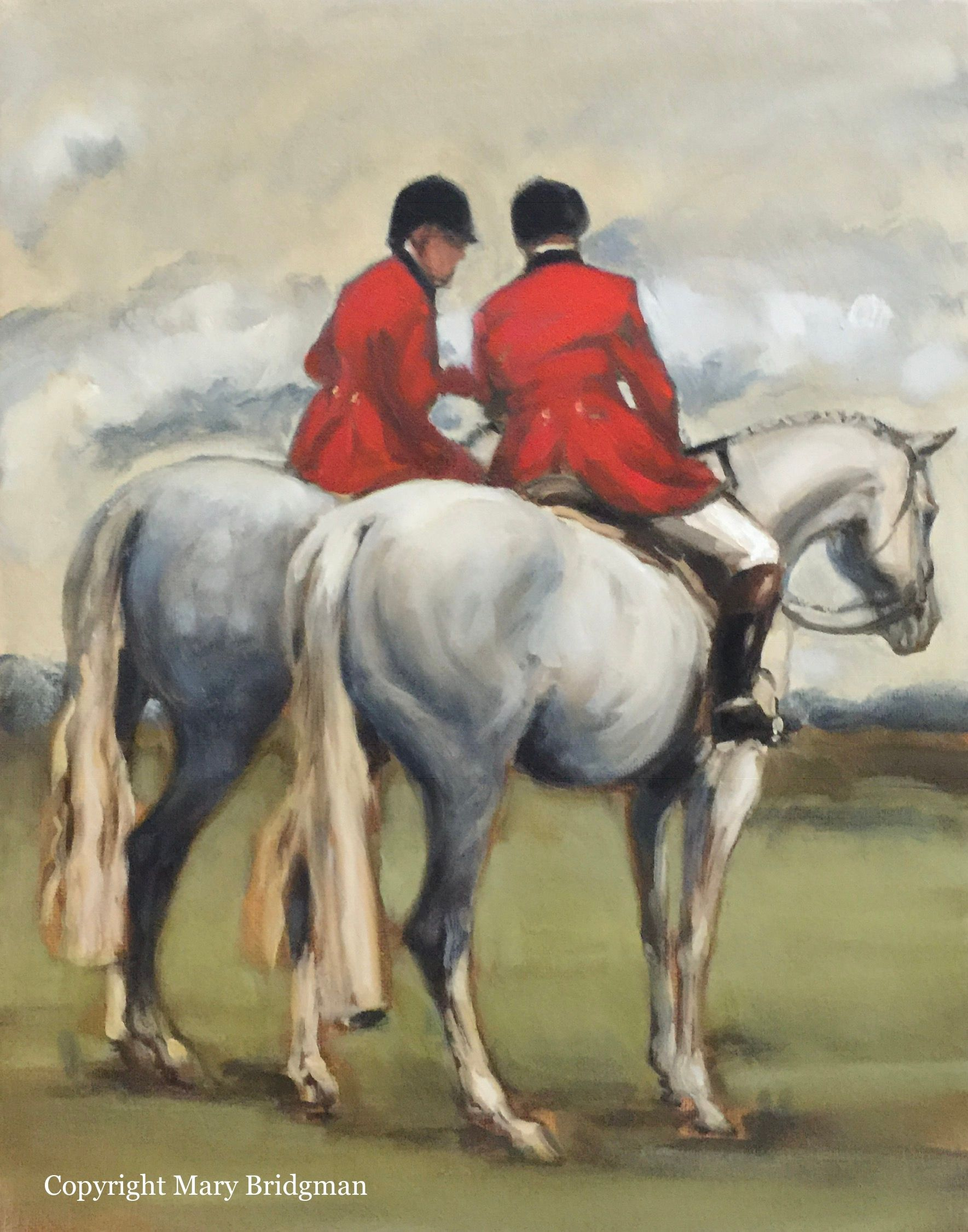 Two Huntsmen Conversing, The Millbrook Hunt