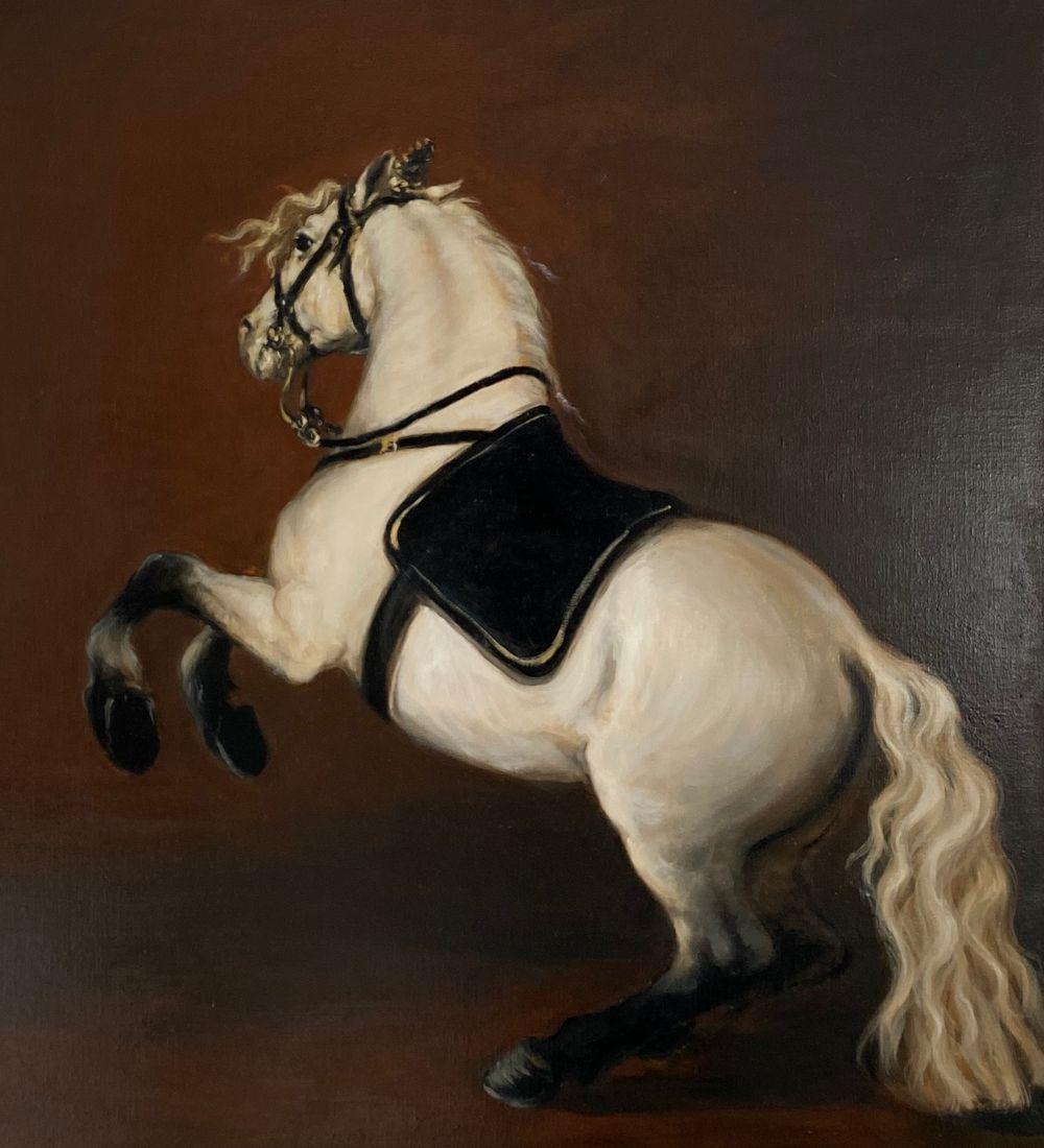 White Horse, Levade