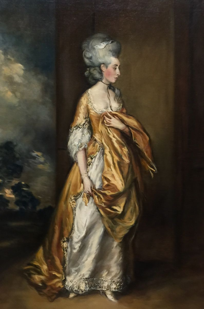 Copy after Mrs Grace Dalrymple Elliot by Gainsborough