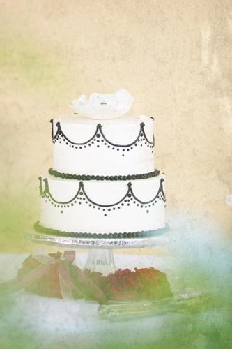 Wedding Cake at Piattie Restaurant Wedding