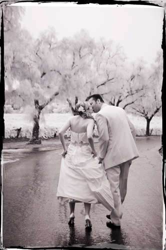 Infrared Wedding Photography Gainey Vineyard