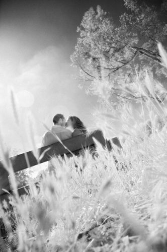 Infrared Engagement Photography Huntington Beach