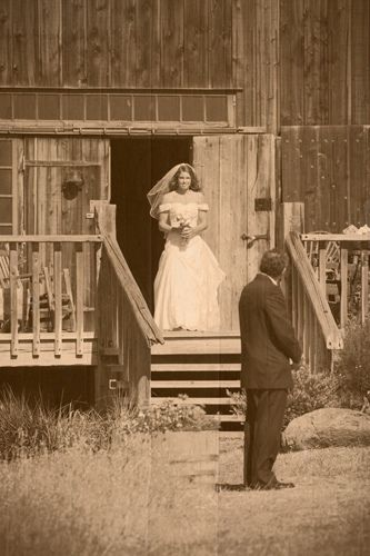 Figueroa Mountain Farmhouse Wedding Ceremony