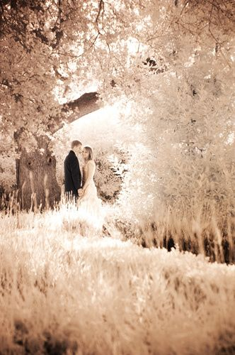 Infrared Wedding Photography Westmont Chapel