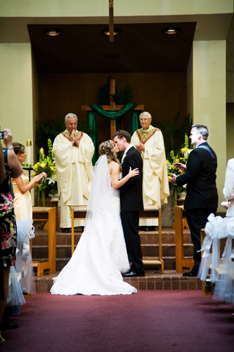 San Antonio Catholic Church Wedding