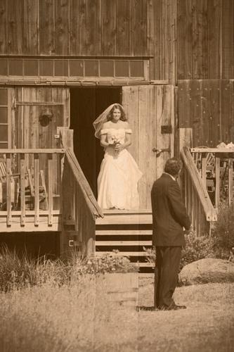 Figueroa Mountain Farmhouse Wedding Ceremony