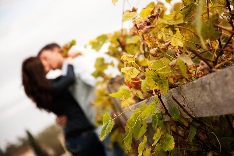 Engagement Pictures at Santa Barbara Mission
