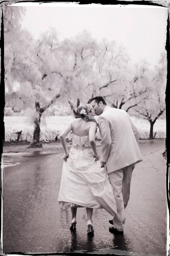 Infrared Wedding Photography Gainey Vineyard