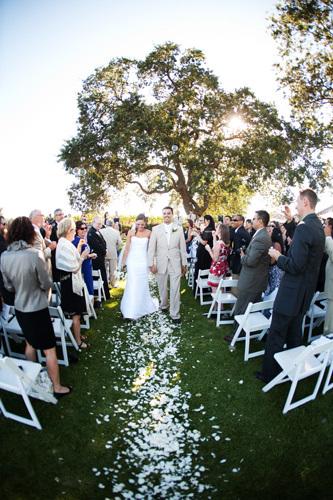 Gainey Vineyard Wedding