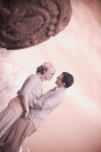 Infrared Engagement Photography Santa Barbara