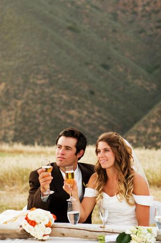 Figueroa Mountain Farmhouse Wedding Reception